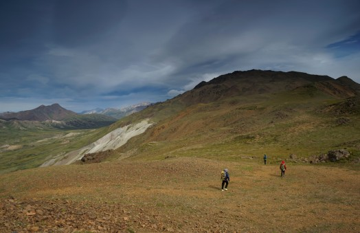 Windy ridge right above Eielson