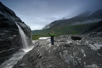 Hike to Worthington Glacier