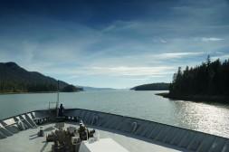 Aboard MV Matanuska