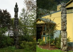 Totems of Juneau and Wrangell